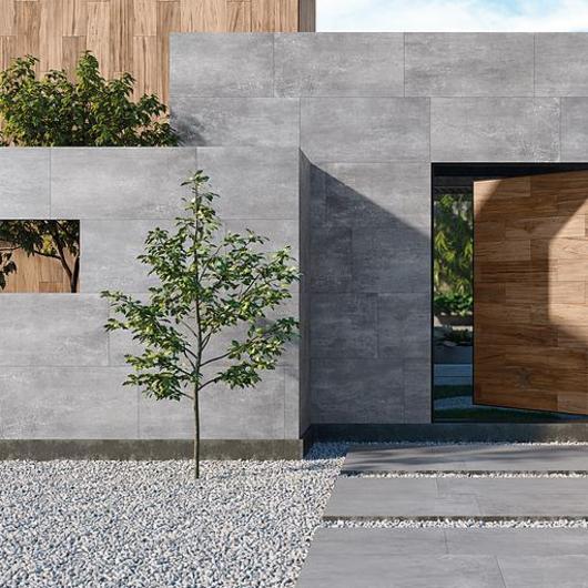 Porcelánico estilo cemento - Colección Bau Ziment / Firenze