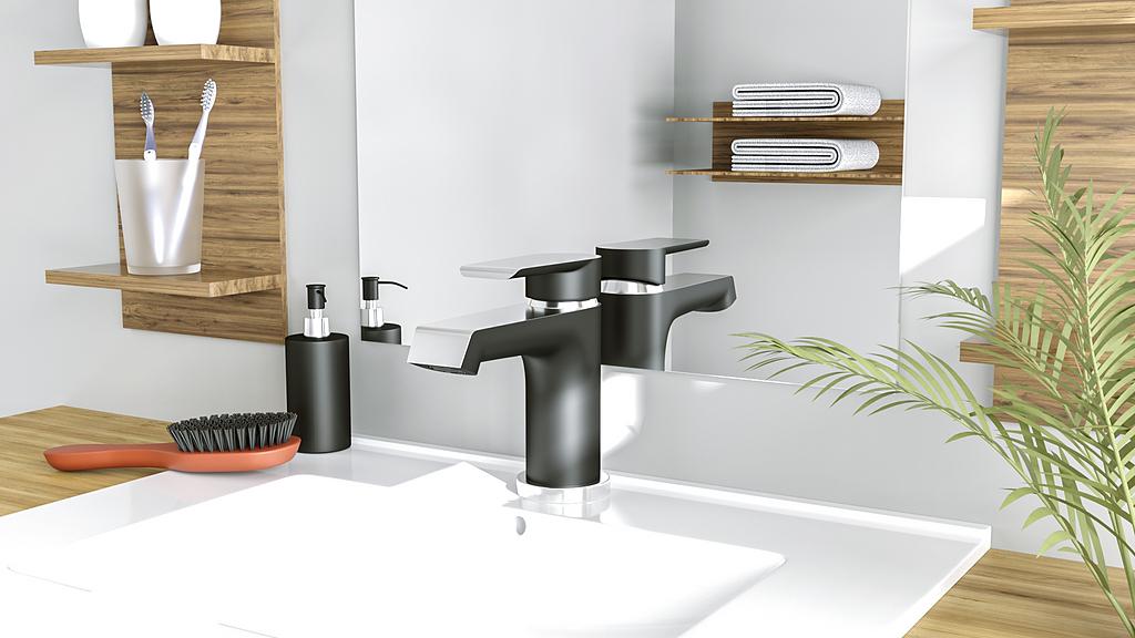 Griferías monomando para baños y cocinas