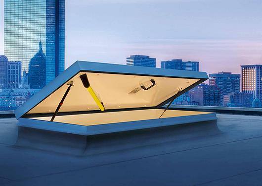 Gorter Hatches | Aluminium Roof Hatch