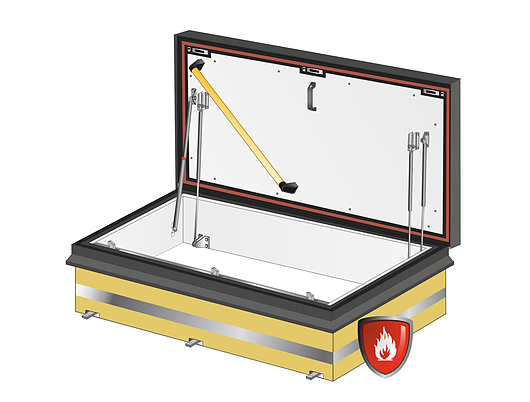 Gorter Hatches | Fire Rated Roof Hatch