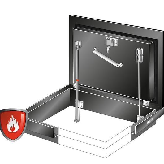 Floor Door - Fire Rated