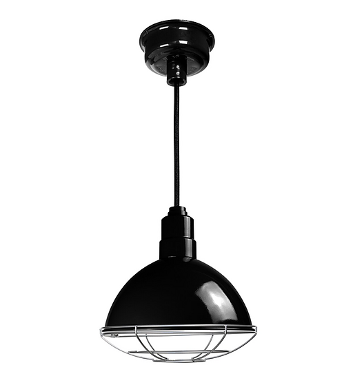 Customizable Blackspot Indoor LED Barn Pendant Light