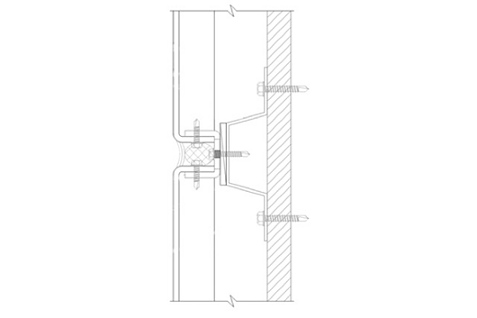 Wet Seal Plate Wall Panel Section