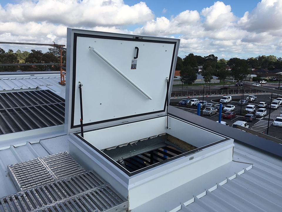 Roof Hatch - RHT Aluminium