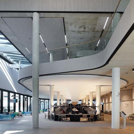 Acoustic Cladding - HeartFelt® Walls / Hunter Douglas Architectural (Europe)