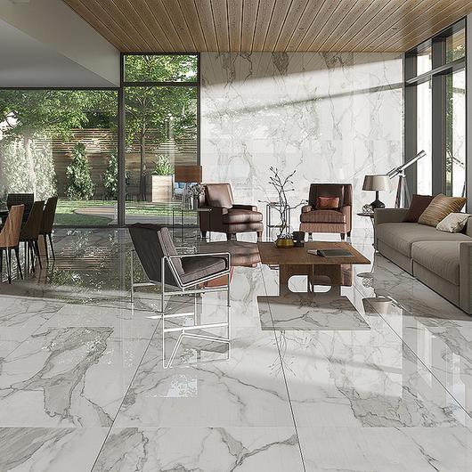 Revestimientos estilo mármol blanco / Daltile