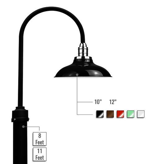 Lighting - Peony LED Barn Post Light