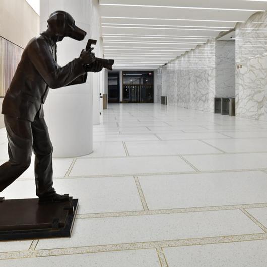 Terrazzo in 75 Rockefeller Plaza Lobby