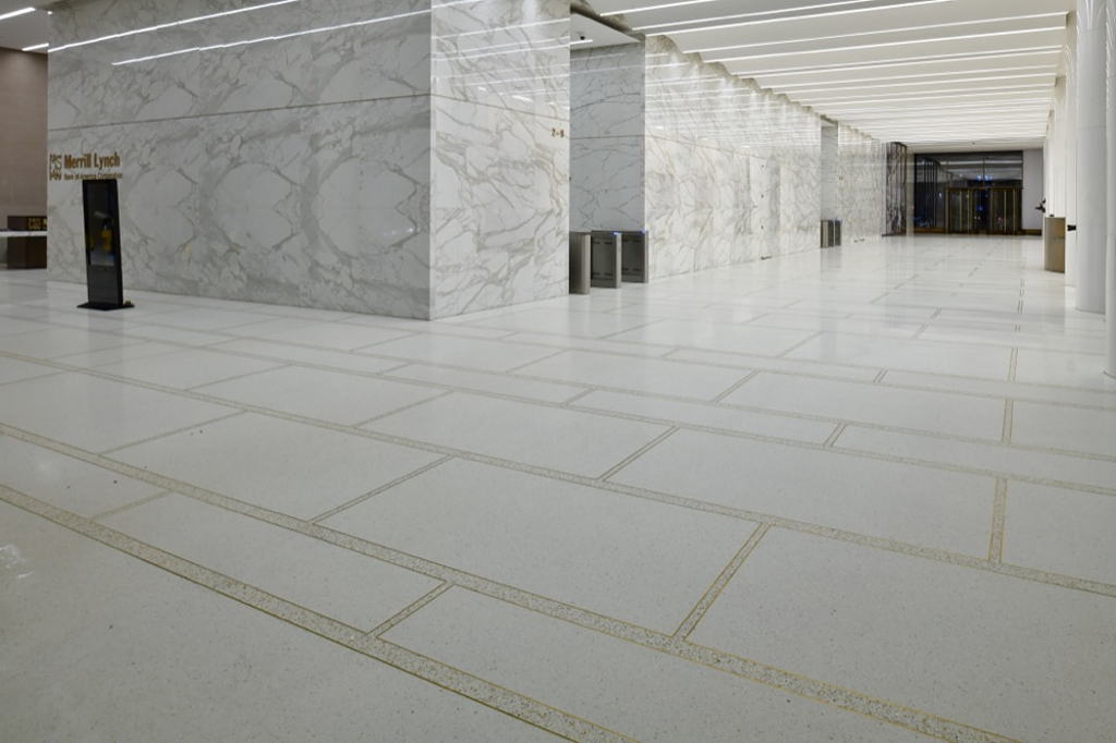 Gallery Of Terrazzo In 75 Rockefeller Plaza Lobby 3