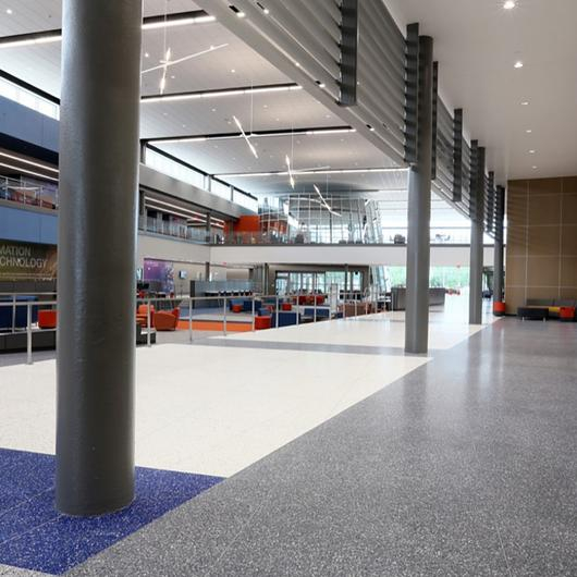 Terrazzo in Alief ISD Career Center