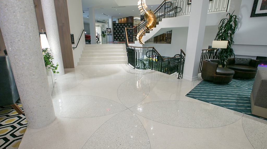 Terrazzo In Hardrock Hotel From Terrazzo Marble