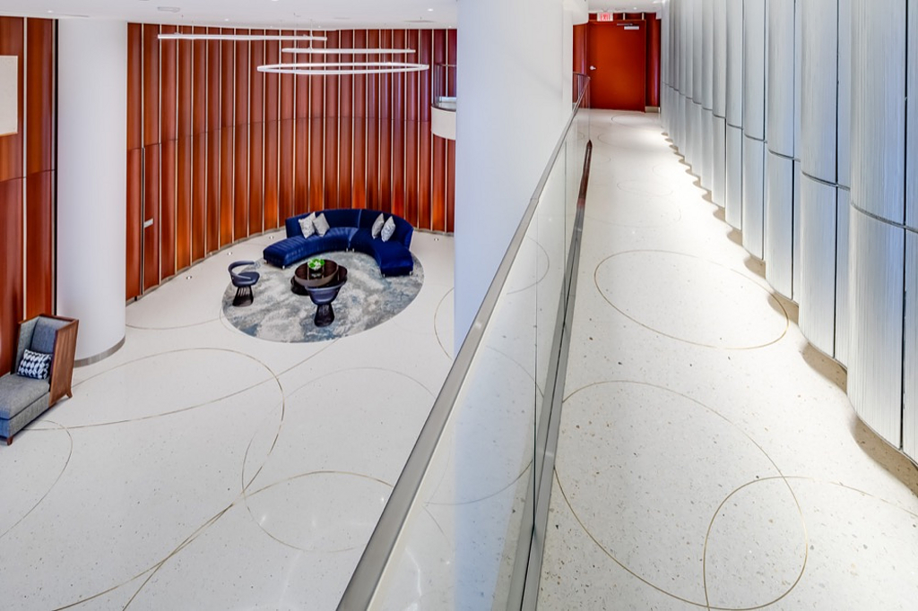 Terrazzo In Pacific Gate From Terrazzo Marble