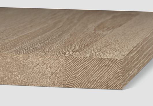 High visual and tactile quality, wide range of thicknesses and widths
