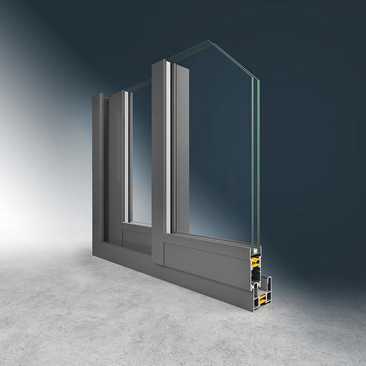 Ventanas y puertas con RPT  300 S 60 - Eternity / AlChile