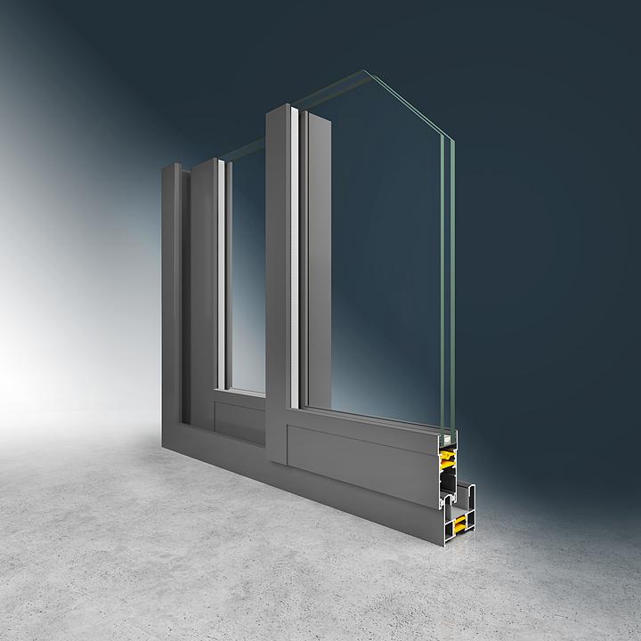 Ventanas y puertas con RPT  300 S 60 - Eternity