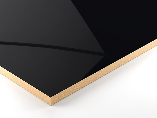 PerfectSense Gloss lacquered boards provide interior design with an exclusive character.