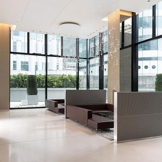 Metal Fabric Wall Covering & Partitions / GKD Metal Fabrics