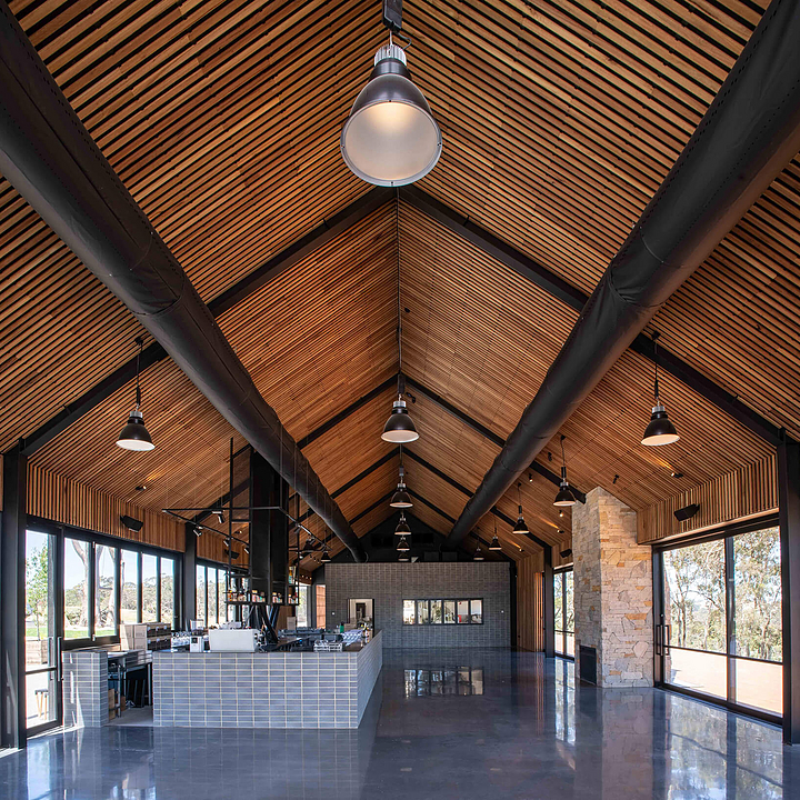 Timber Battens in Lot 100 Cellar Door