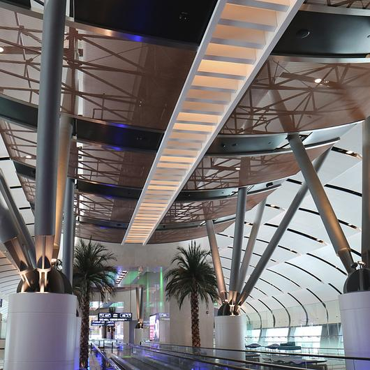 Ceilings with Metal Fabric / GKD Metal Fabrics