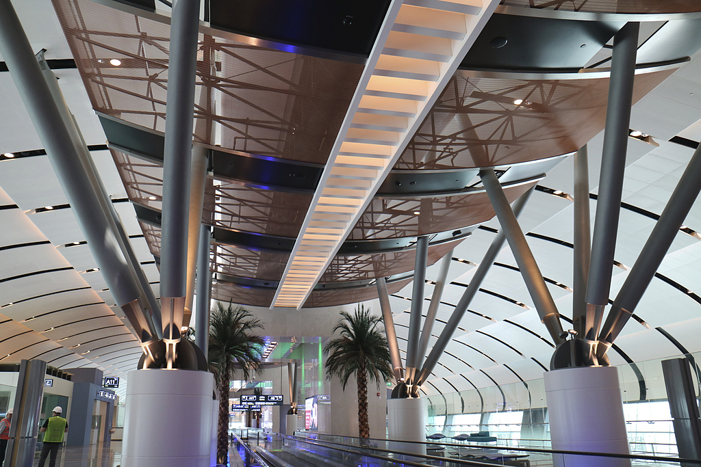 Ceilings with Metal Fabric