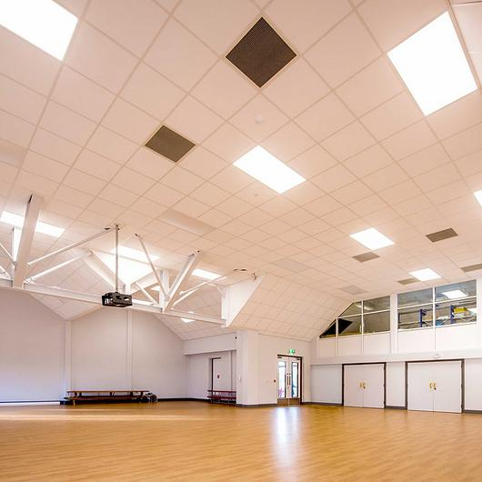 Translucent Building Elements in Downton Primary School / Rodeca