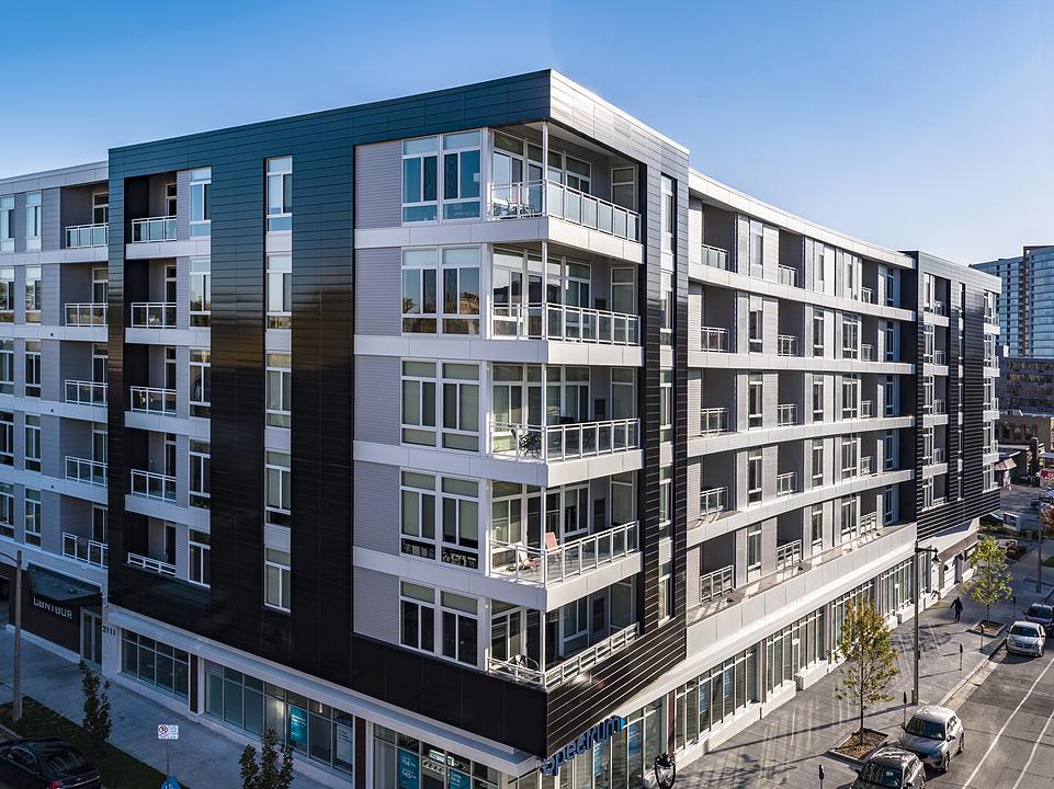 NeaCera Rainscreen Façade in Mixed Use Residential