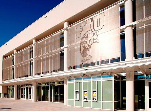 Metal Fabric in Florida International University Century Bank Arena