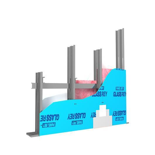 Detalles técnicos para muros / Panel Rey