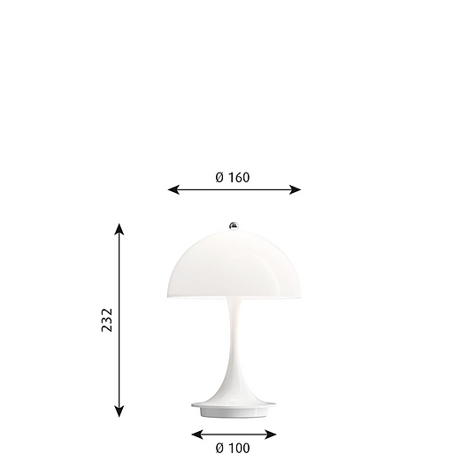 Panthella Portable Table Lamp
