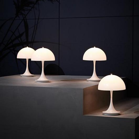 Lamps - Panthella Portable / Louis Poulsen