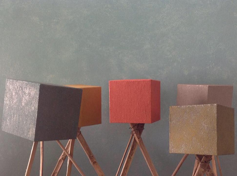 Textura acrílica para revestimento de paredes - Óxidos