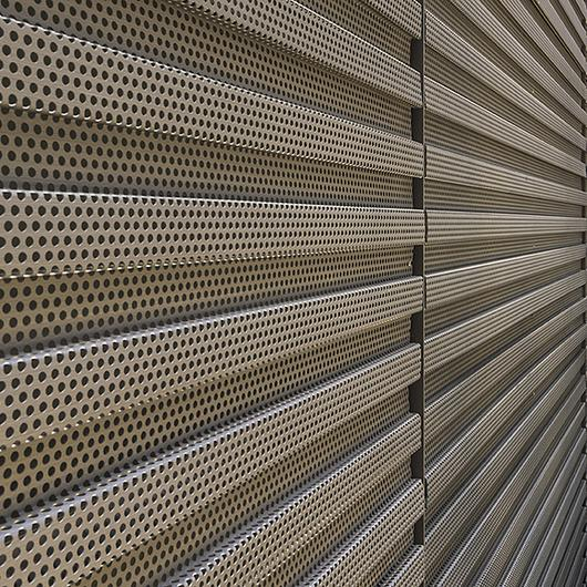 Perforated Wall Panels From Pure Freeform