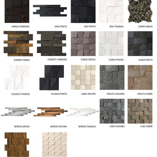 Revestimiento de Mosaicos Mosarte / MK