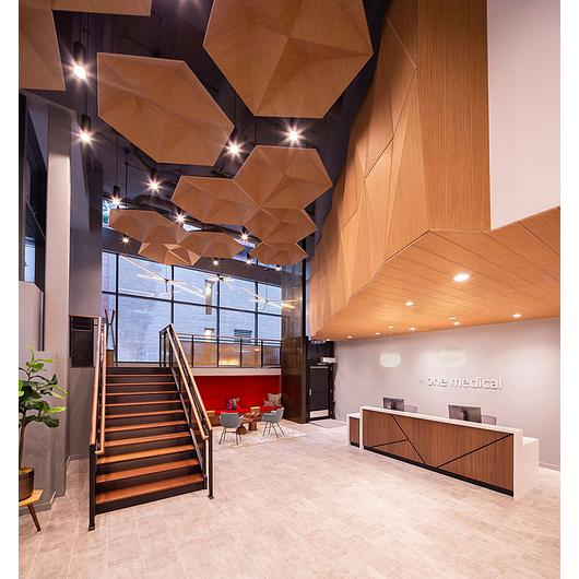 Acoustic Material -  Soft Sound® Wood Texture / Arktura
