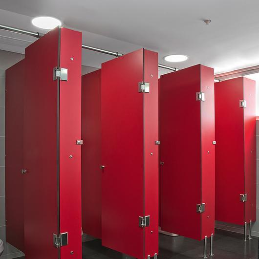 Toilets partitions - Bathrooms