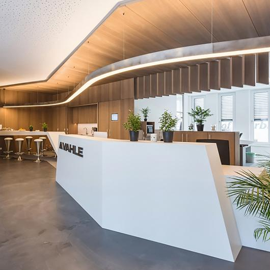 EGGER Surfaces in Vahle Automation GmbH / EGGER