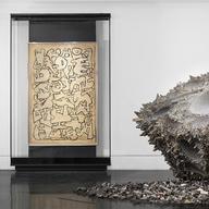Display Cases in Brooklyn Museum