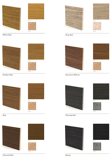 Arktura | Soft Sound® - Wood Textures
