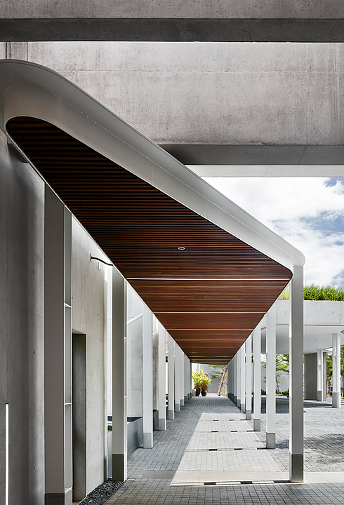 Click-on Battens in Australian Embassy Bangkok