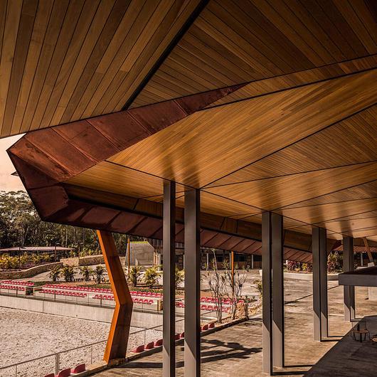 Timber Soffits in Willinga Park Stables / Sculptform