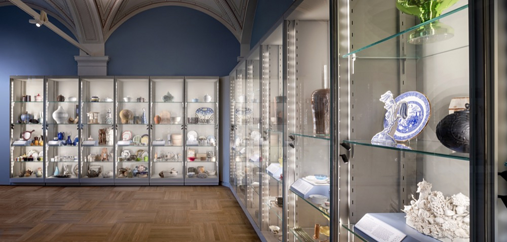 Display Cases in Stockholm Nationalmuseum