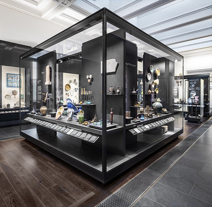 Display Cases in The Albukhary Gallery