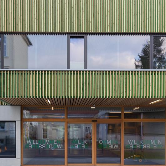 Wood-Aluminum Window - TA35 INRA
