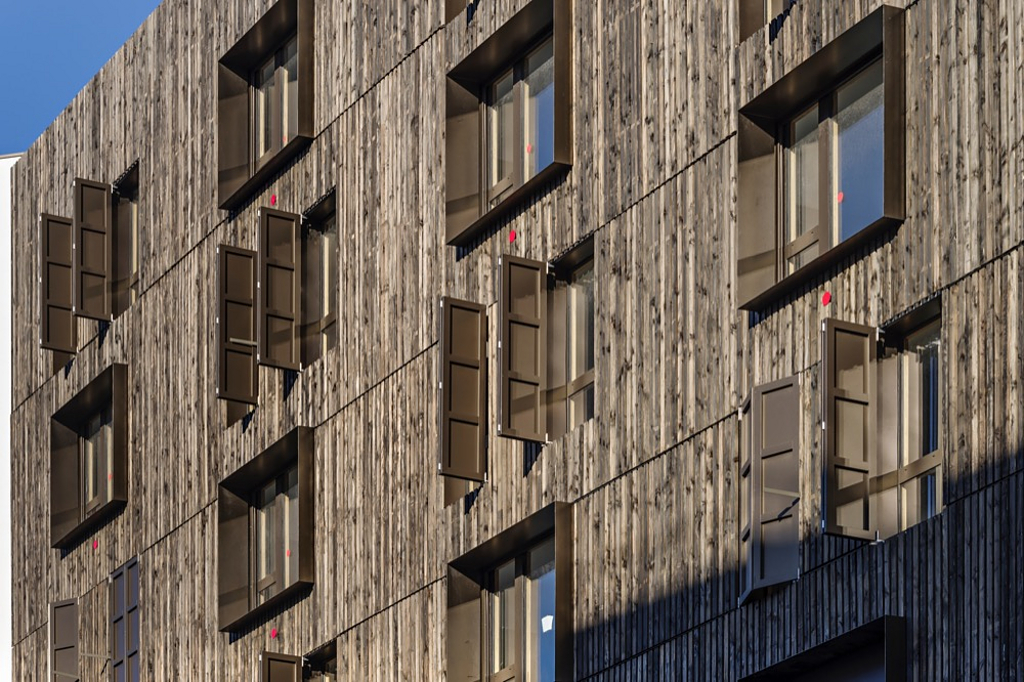 Wood-Aluminum Window - TA35 IN