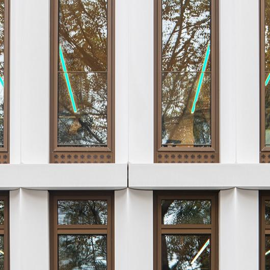 Wood-Aluminum Window - TA35 SLRA