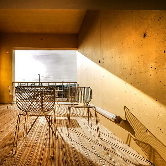 Metallic Appearance for Concrete - Keim Design-Lasur / KEIM