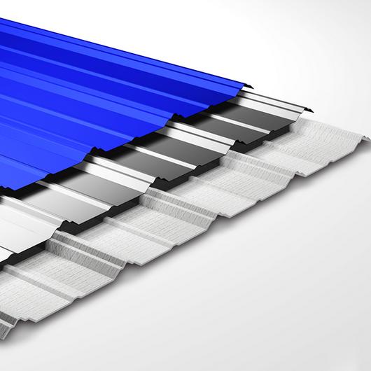 Cubierta metálica termoacústica - Thermo Steel Maxter