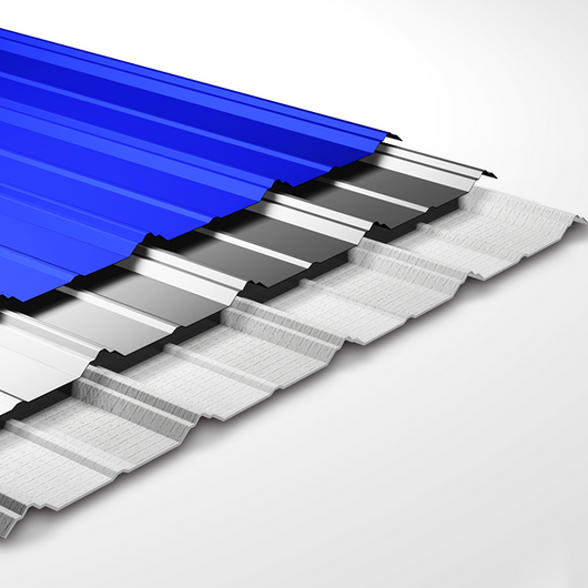 Cubierta metálica termoacústica - Thermo Steel Maxter / Mathiesen