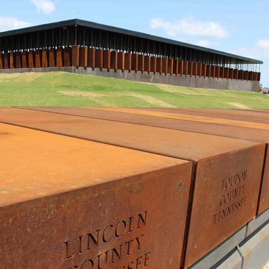 Cor-ten  Weathering Steel