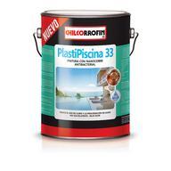 Pintura para piscinas Plastipiscina 33 con Nanocobre al agua
